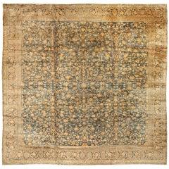 Antique 19th Century Indian Carpet