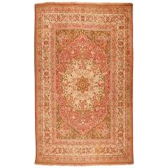 Antique 19th Century Indian Amritsar Carpet