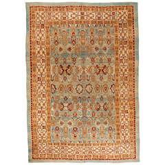 Exceptional 19th Century Antique Agra Carpet