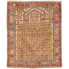 Antique 19th Century Caucasian Mirasali Rug