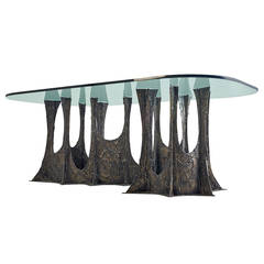 Paul Evans 1969 Stalagmite Signed Dining Table