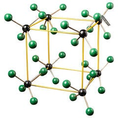 1950s Molecular Structure from Prague, Czech