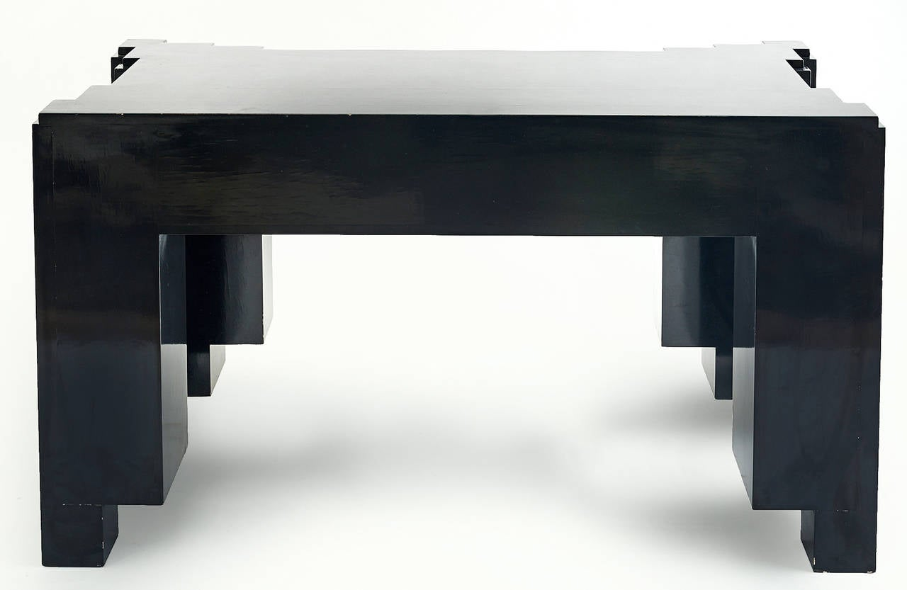 1930s Paul Frankl Inspired Skyscraper Console or Entry Table For Sale 3