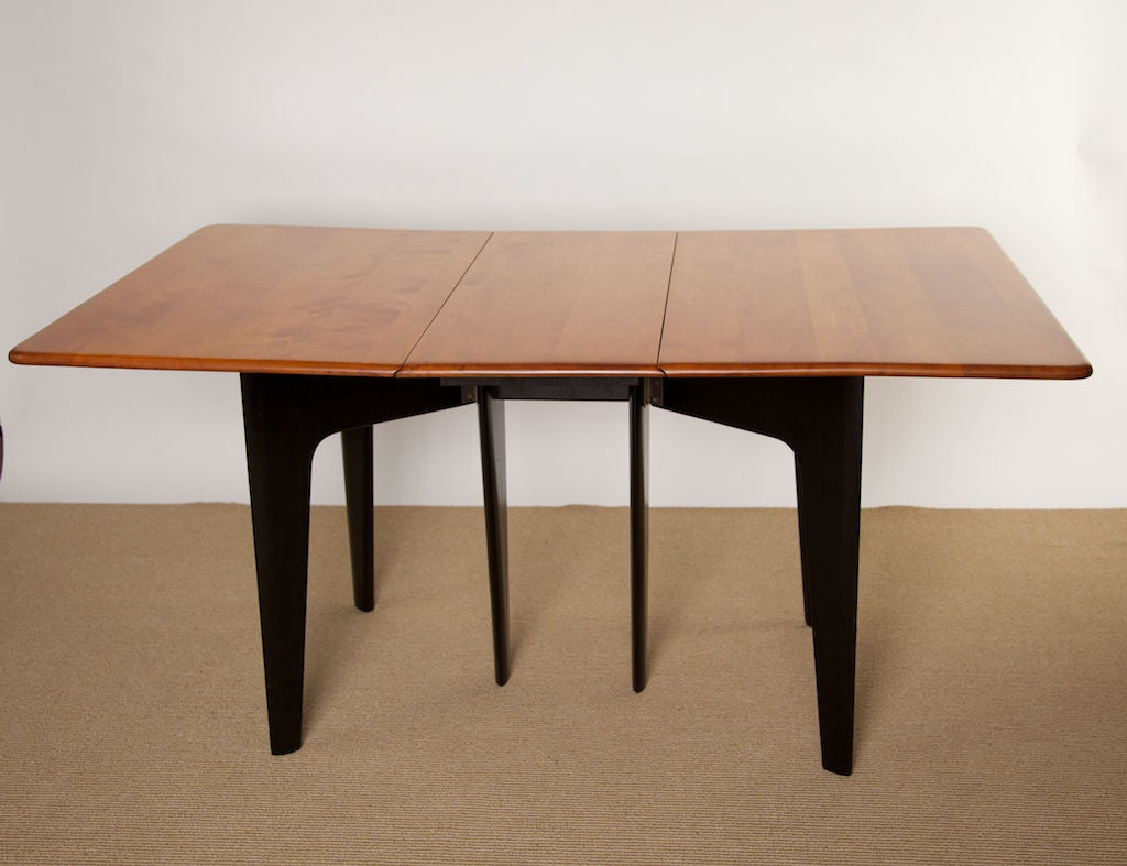 Early 1950 S Heywood Wakefield Versatile Folding Table At
