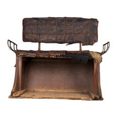 1850s-1870s Horse Carriage Bench