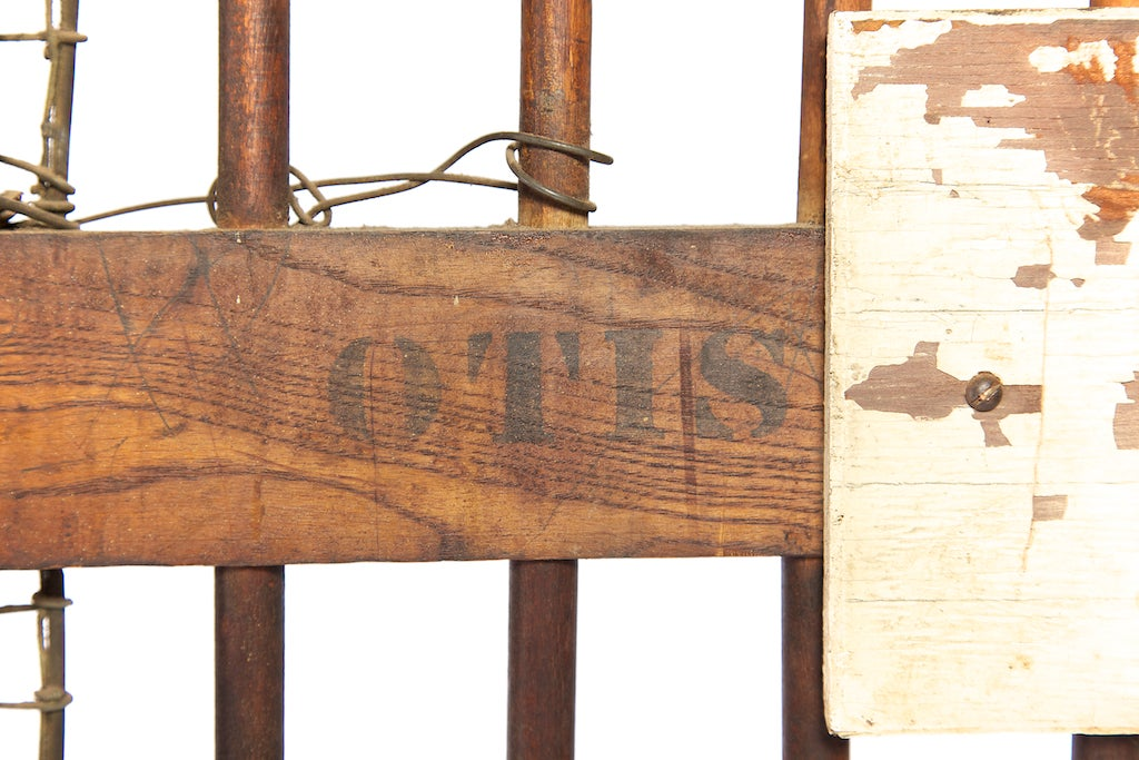 Salvaged Otis Elevator Lift Gate Dated Patent May 1904 At