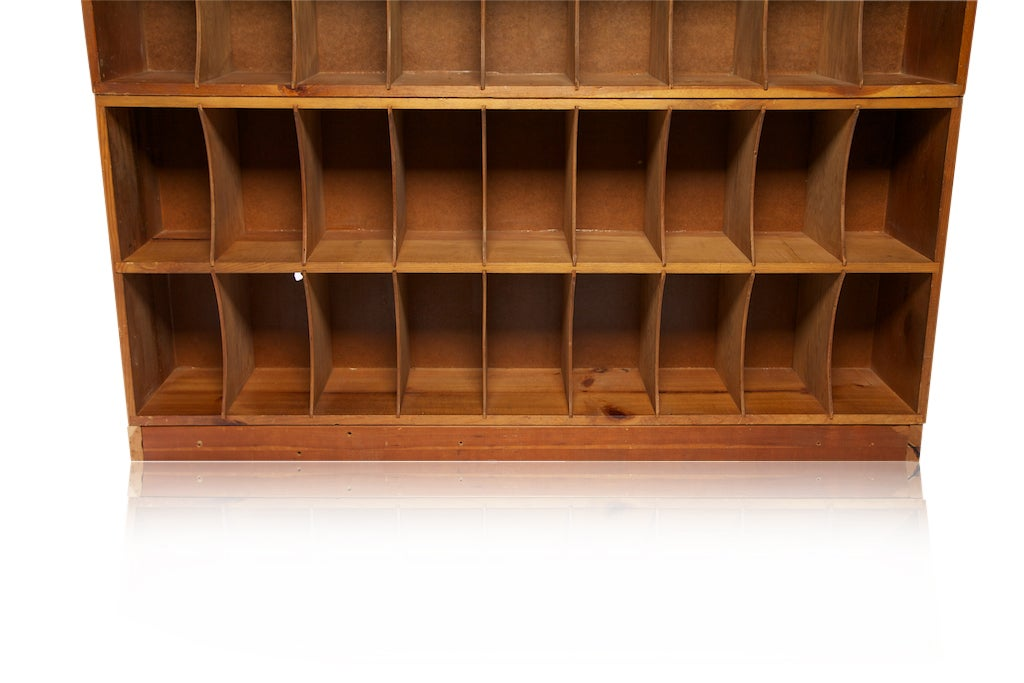 Factory Mail Slot Cabinet At 1stdibs