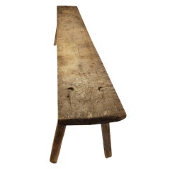 18th Century Handcrafted Dining Table