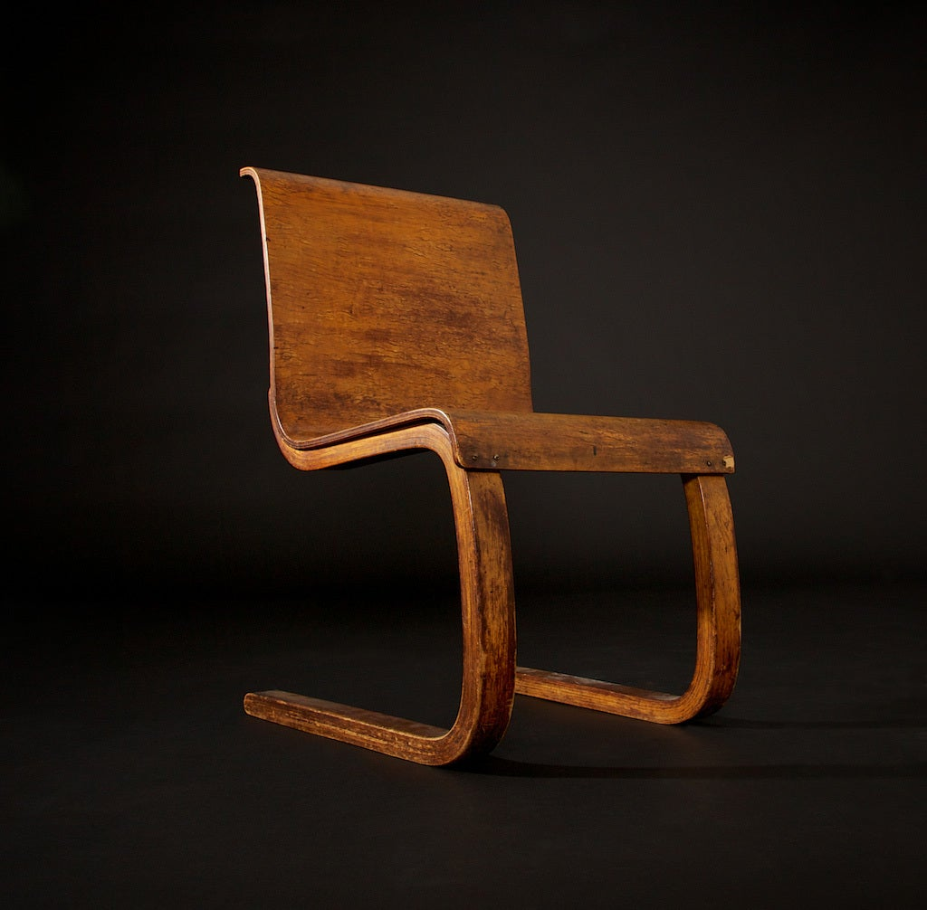 Alvar Aalto Chairs No 21 Set Of Three At 1stdibs