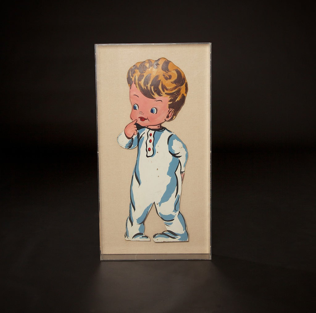 Mid-Century Modern Pop Art Toddlers from 1970s For Sale