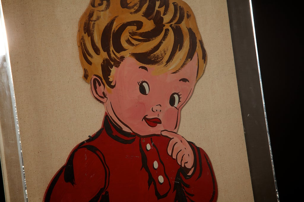 American Pop Art Toddlers from 1970s For Sale