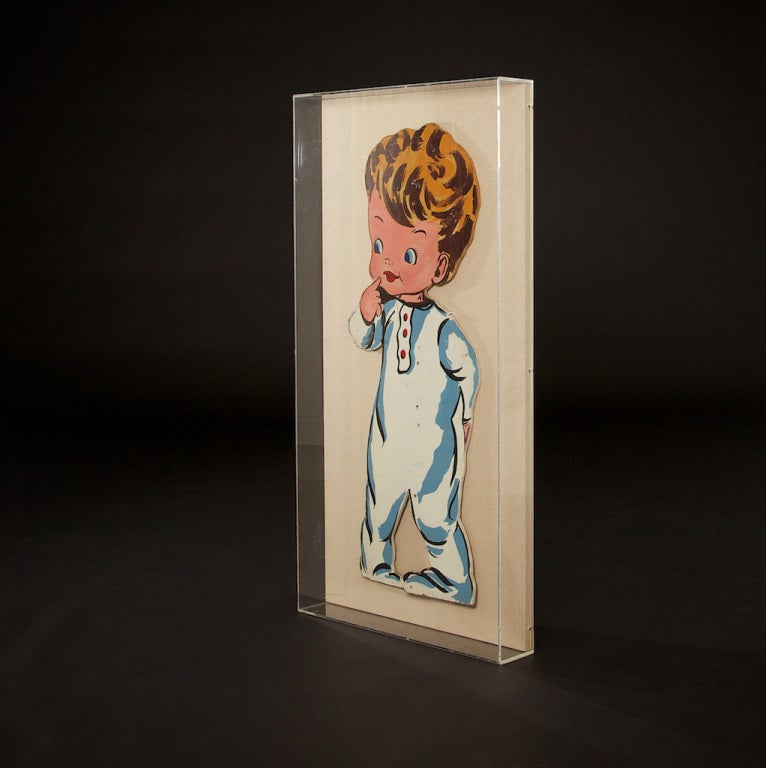 Pop Art Toddlers from 1970s In Excellent Condition For Sale In New Rochelle, NY