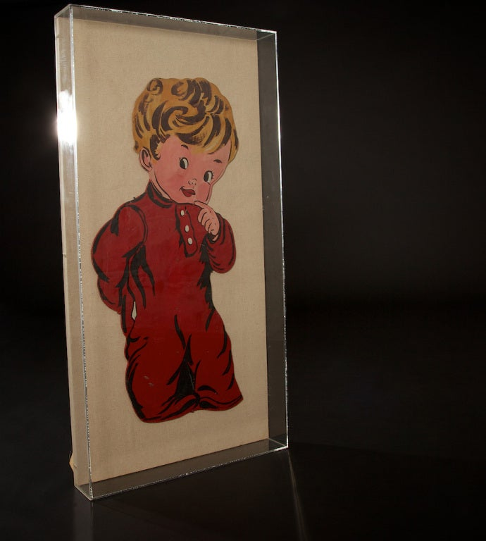 Late 20th Century Pop Art Toddlers from 1970s For Sale