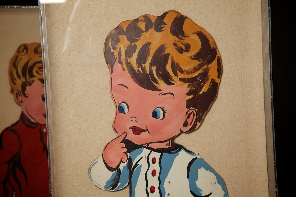Plexiglass Pop Art Toddlers from 1970s For Sale