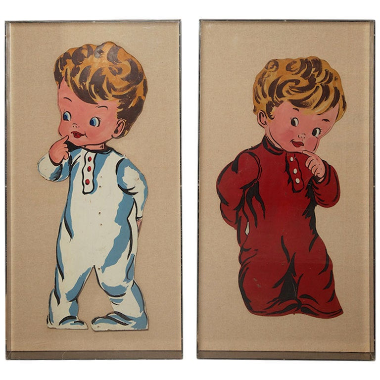 Pop Art Toddlers from 1970s