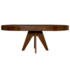 1940's Signed Austrian Splayed leg Dining Table