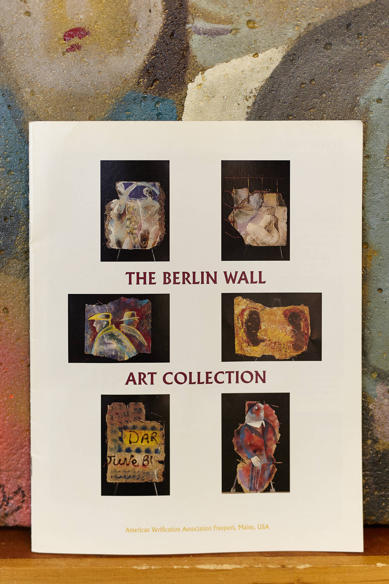 piece of history from the berlin wall art collection 2000 vladimir smachtin at 1stdibs. Black Bedroom Furniture Sets. Home Design Ideas