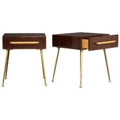 Pair of T.H. Robsjohn-Gibbings Side Tables