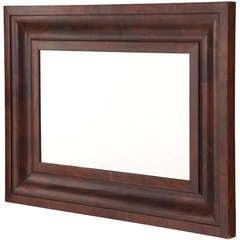 Early 20th Century Mahogany Mirror