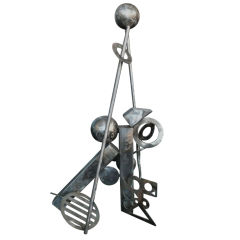 Metal Abstract Sculpture by Cheryl Farber Smith