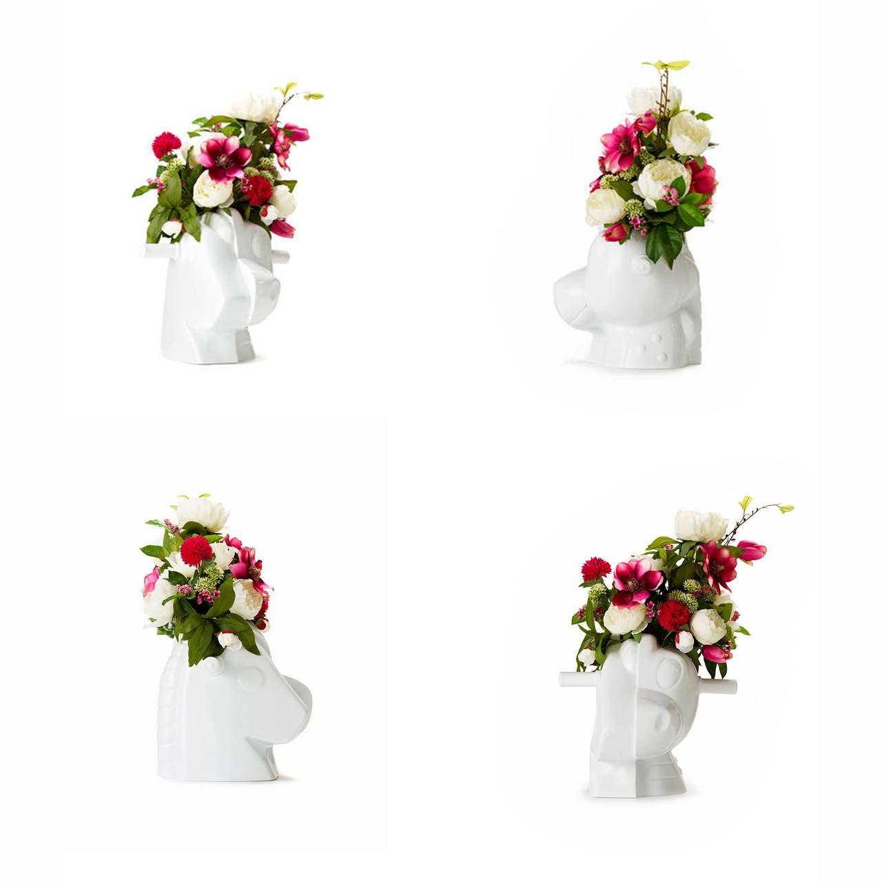 French Split Rocker Vase by Jeff Koons For Sale