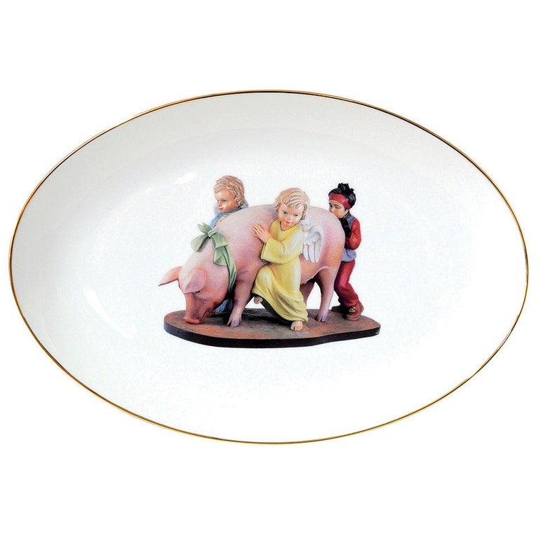 Banality Platter by Jeff Koons For Sale