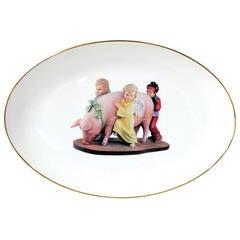 Banality Platter by Jeff Koons