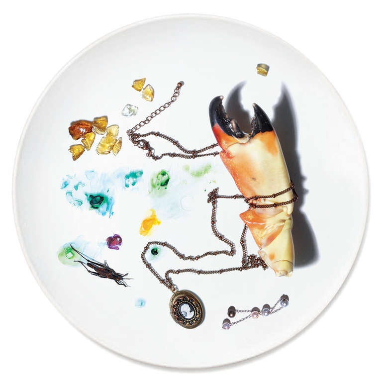 Contemporary Dish Dinner Plate Series by Patella Brothers For Sale