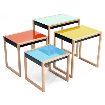 American Nesting Tables by Josef Albers For Sale