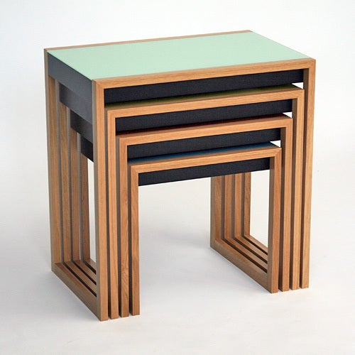 20th Century Nesting Tables by Josef Albers For Sale
