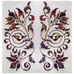 Fleur De Lys Wallpaper by Vik Muniz