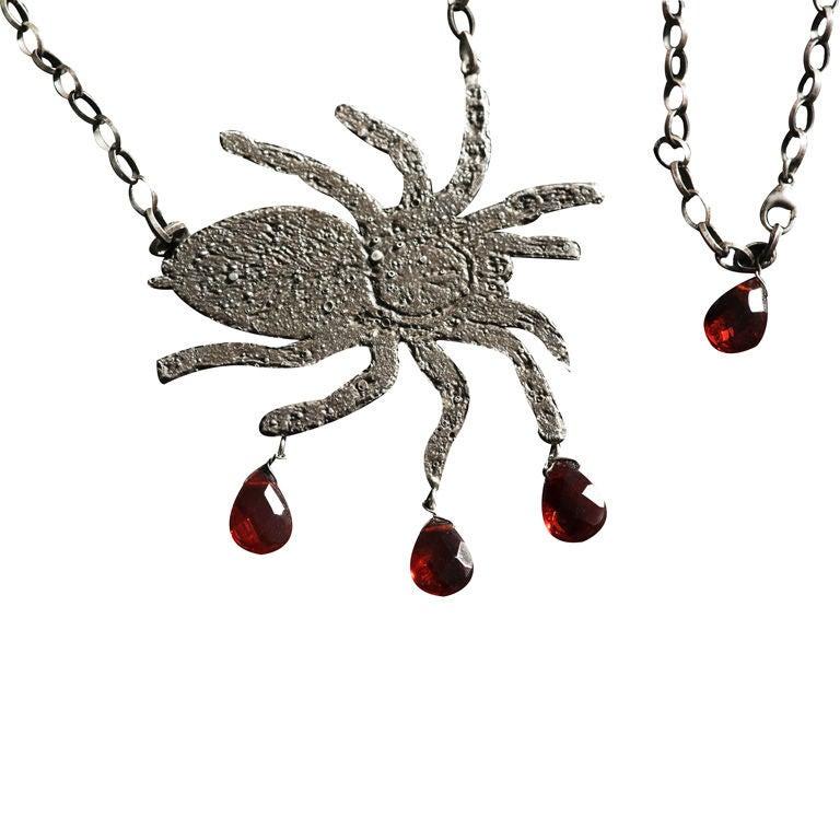 Tarantula Necklace by Kiki Smith