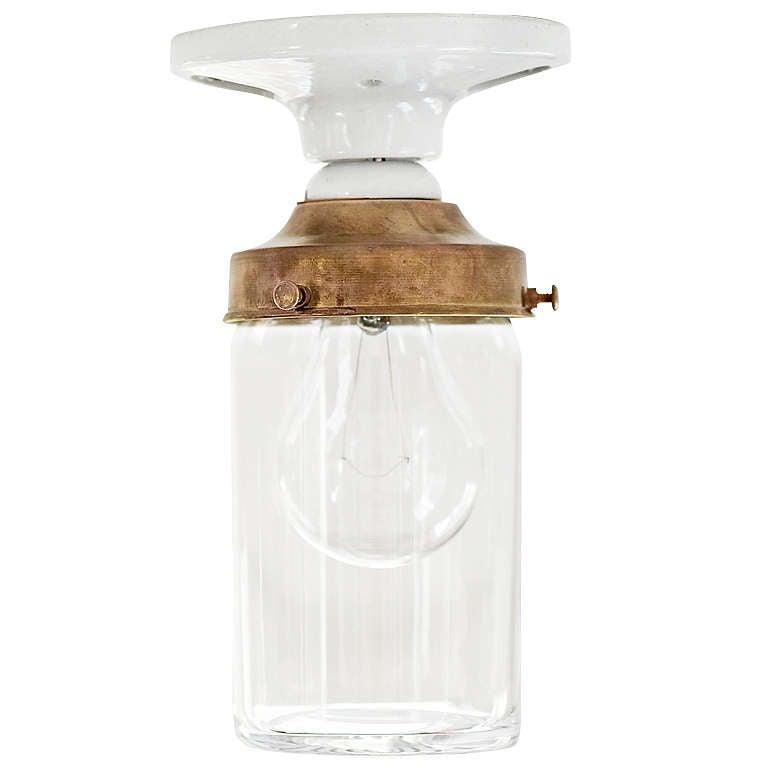 jelly jar light by deborah ehrlich at 1stdibs. Black Bedroom Furniture Sets. Home Design Ideas