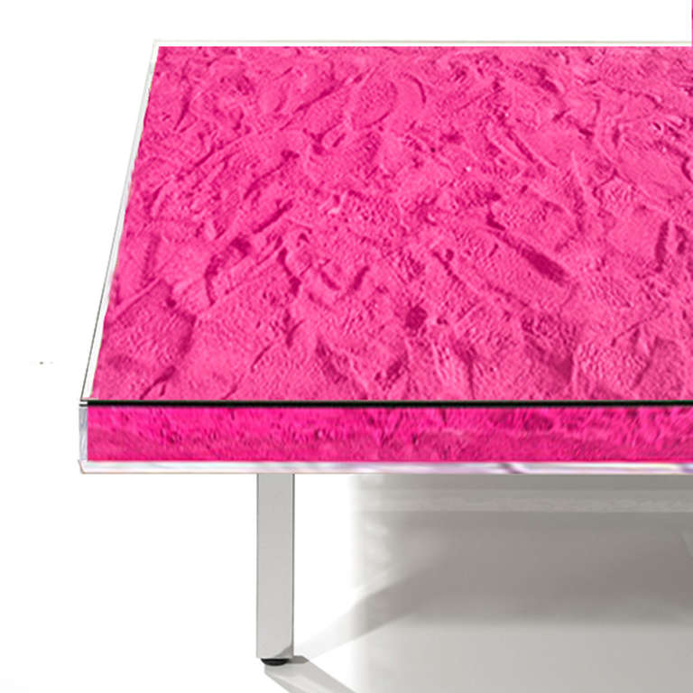 Table Monopink™ by Yves Klein 2