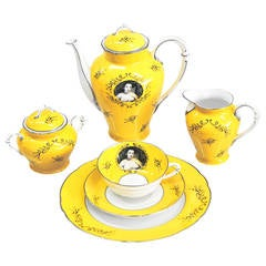 Yellow Tea Service by Cindy Sherman