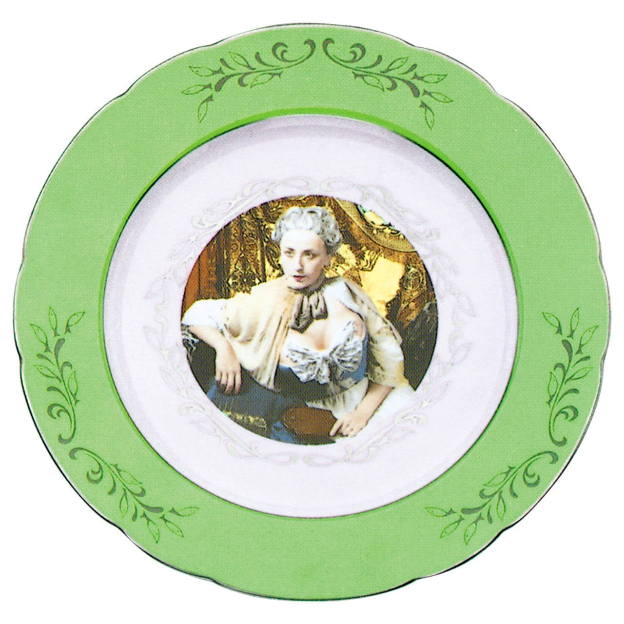 Green Dinner Service by Cindy Sherman For Sale