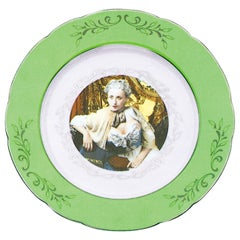 Green Dinner Service by Cindy Sherman