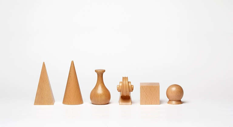 20th Century Chess Set with Board by Man Ray For Sale