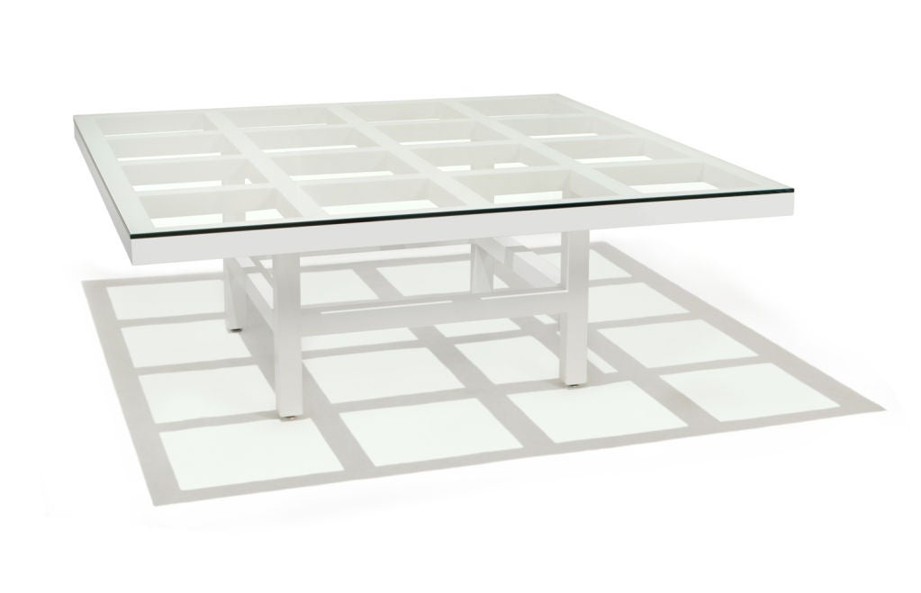 Minimalist Coffee Table by Sol LeWitt For Sale