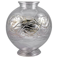 Lovely Art Deco Vase with Fish Motif