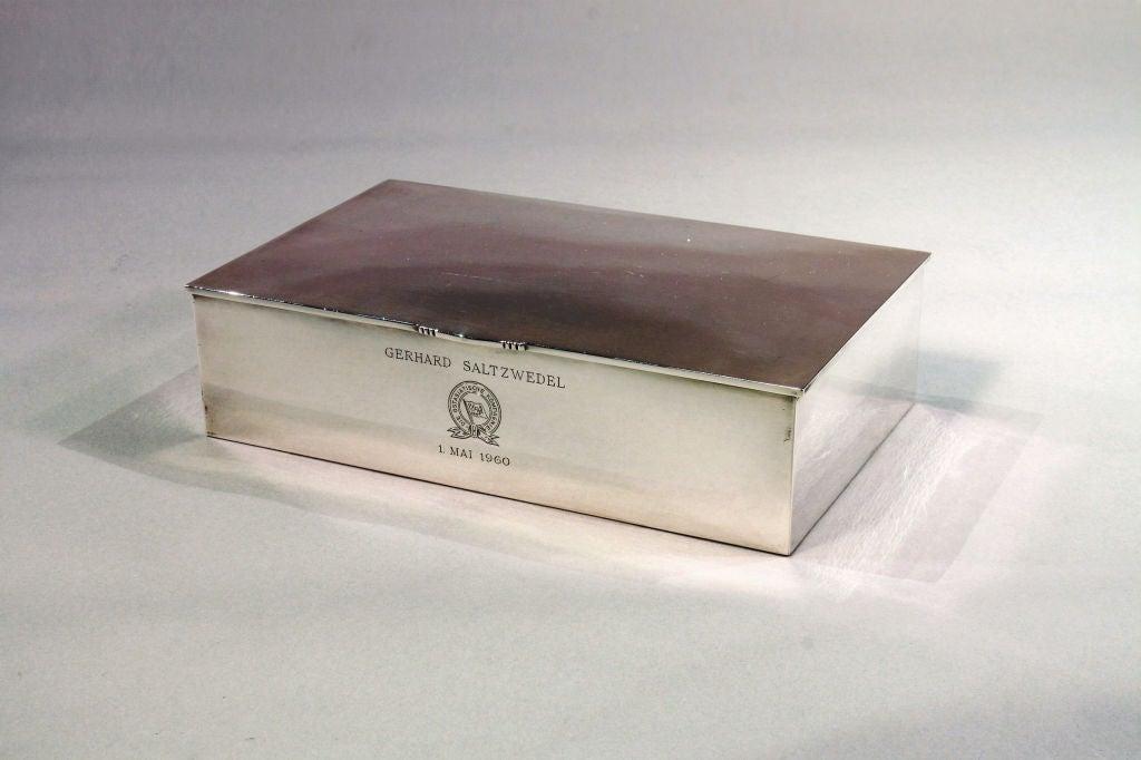 georg jensen table box at 1stdibs. Black Bedroom Furniture Sets. Home Design Ideas