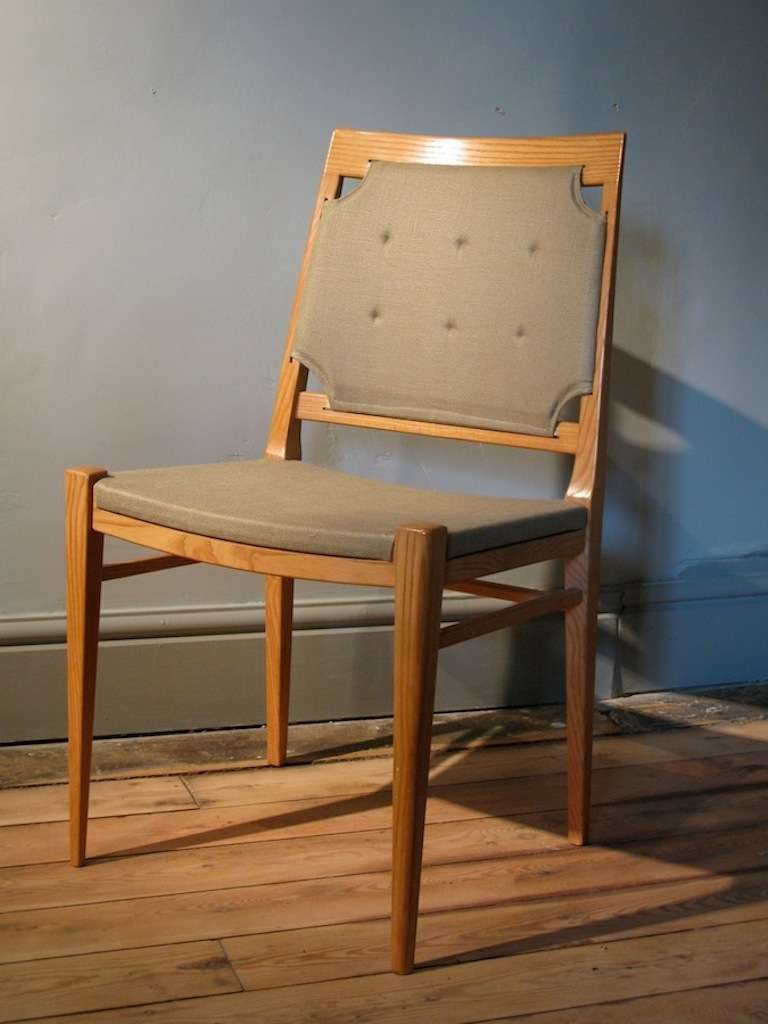 Wonderful set of 10 mid 20th century ash dining chairs at for Mid 20th century furniture