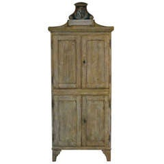 Wonderful 19th cent Spanish Country House Cupboard (Original Paint)