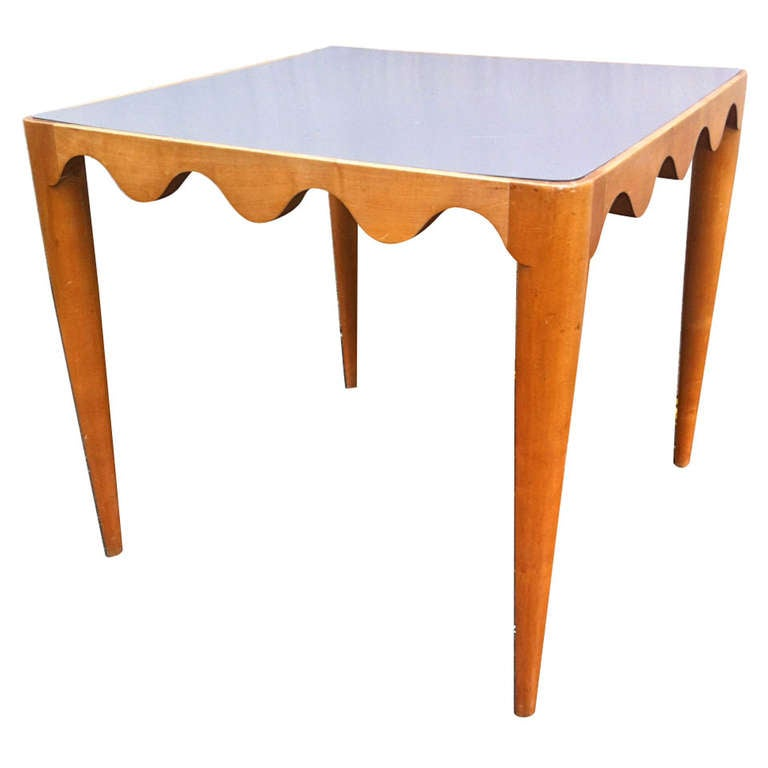 Jean Roy Re Documented Pair Of Playing Card Tables At 1stdibs