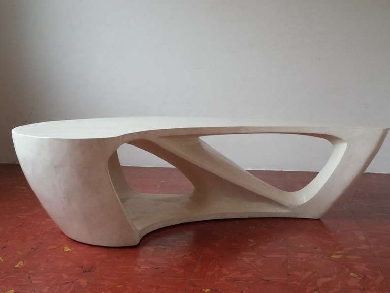 Superb 1970s Boomerang Organic Shaped Coffee Table At 1stdibs