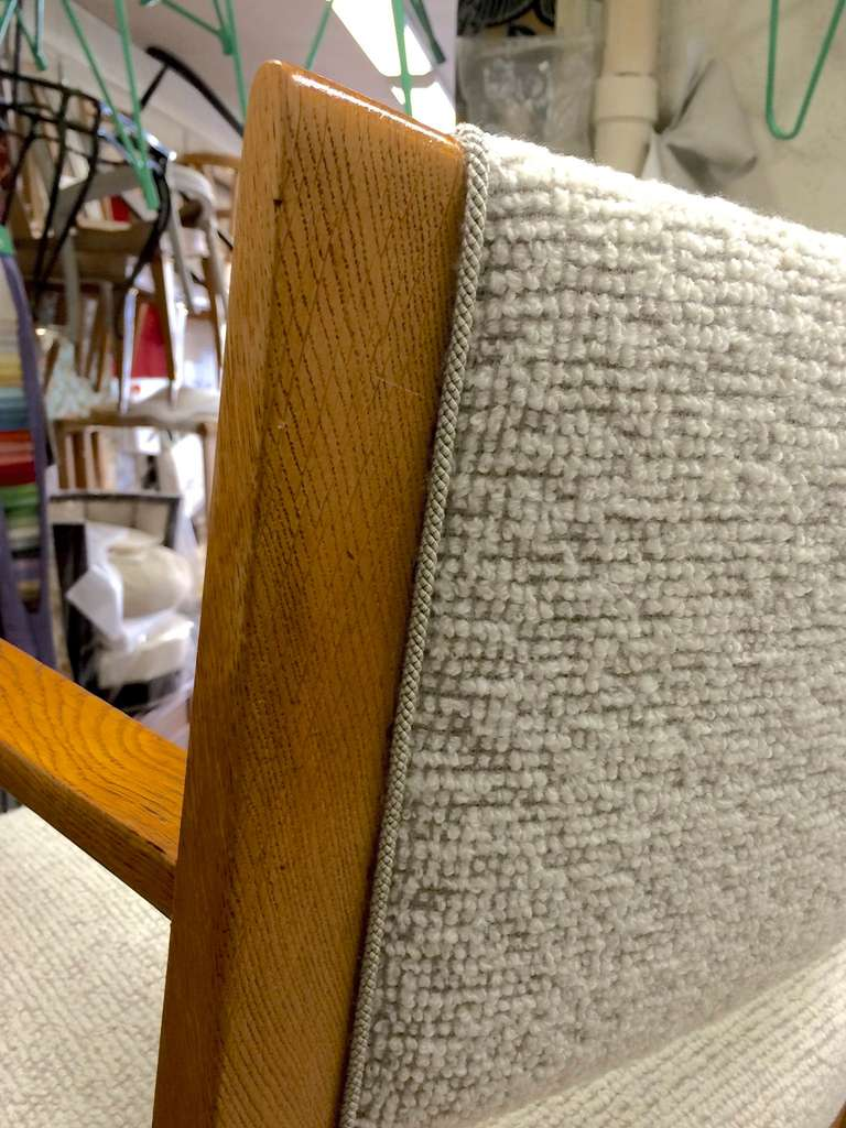 Jean Roy 232 Re Desk Armchair Newly Reupholsterd In Maharam