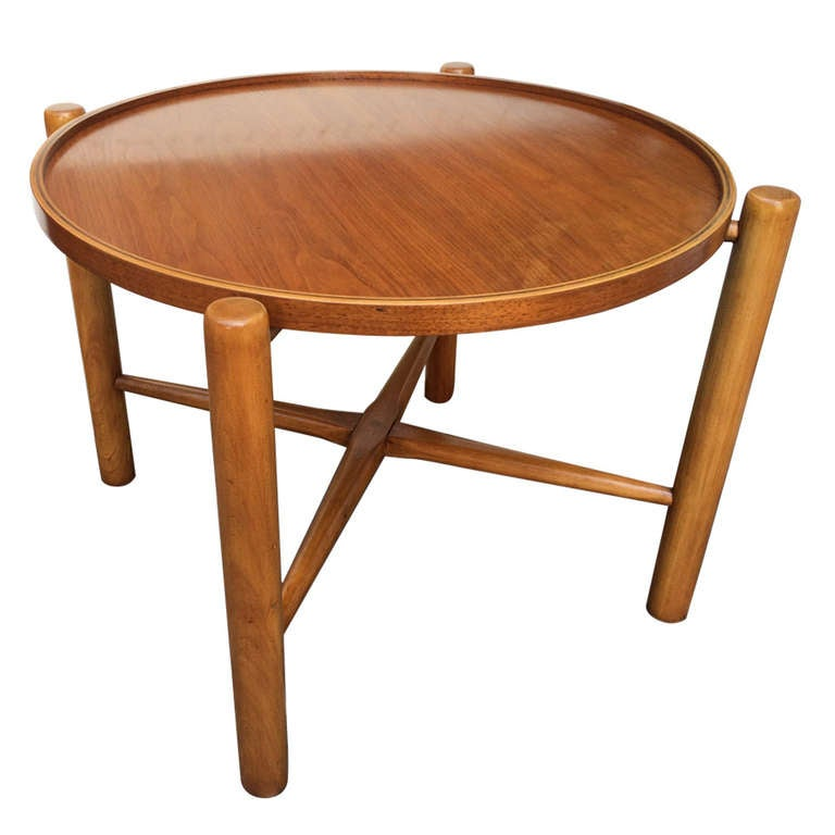Hans Wegner Folding Coffee Table At 1stdibs