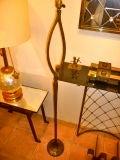 "FELIX AGOSTINI SIGNED floor lamp model""nymphe"" in gold bronze image 3"