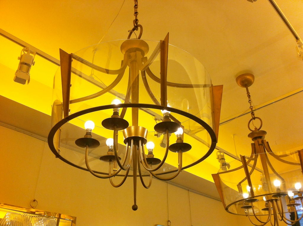 Raymond Subes Rare Superb Neoclassic 1940s Chandelier At