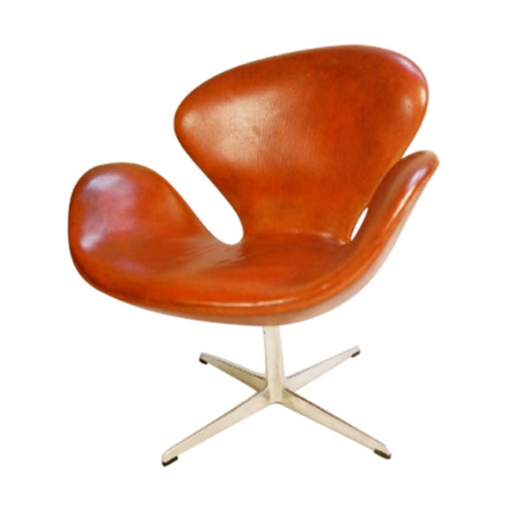 Swann Chair By Arne Jacobsen At 1stdibs